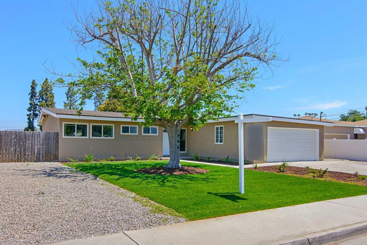 New Listing 966 Gray Drive El Cajon Ca 92020 Home