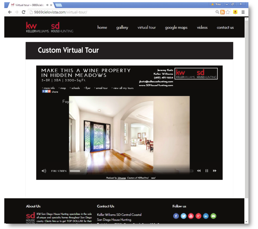 SDHH Provides a Custom Lead Capture Website